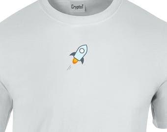 CryptoT Stellar XLM Logo Tshirt