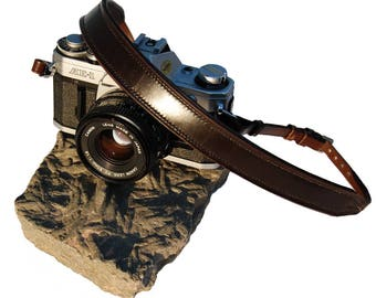 Completely Hand Made Leather Camera Carrying Strap