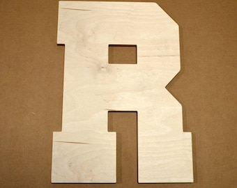Wooden Letter Cut Out, Wooden Letters, Bedroom Decor, Nursery Decor, Birthday Gift, Wooden Cut Out, Alphabet Letters