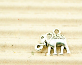 1x Elephant 16 mm silver-plated art. 4710