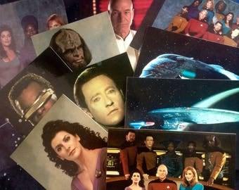 Star Trek TNG Postcards