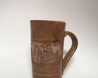 Cityscape Ceramic Mug