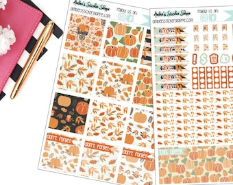 Pumpkin Patch Kit for Mini Happy Planner