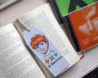 Bookmarks with music artists [Ed Sheeran, Coldplay, Shawn Mendes, Imagine Dragons, Taylor Swift]