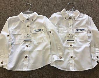 Prodoh toddler fishing shirt
