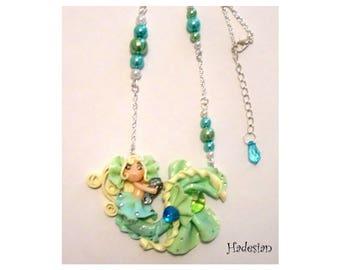 Mermaid necklace / Mermaid - Unique Creation