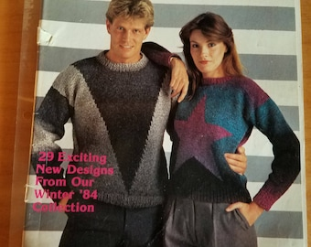 Fashion Knitting No. 15 Knitting Magazine - Winter 1984 Collection