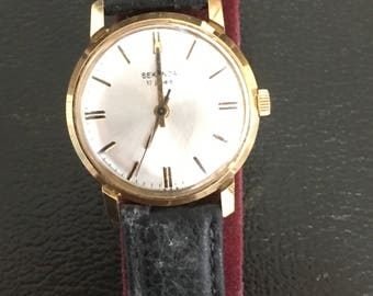 Gent's Sekonda Gold plated Vintage Manual Watch 17 Jewels