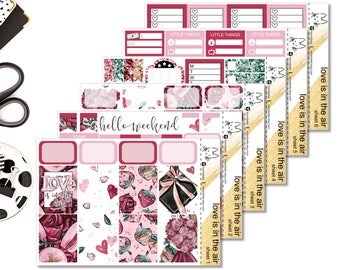 Love Is In The Air II Perfect For The Erin Condren Life Planner II