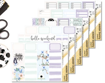 Easter Bunny II Perfect For The Erin Condren Life Planner II