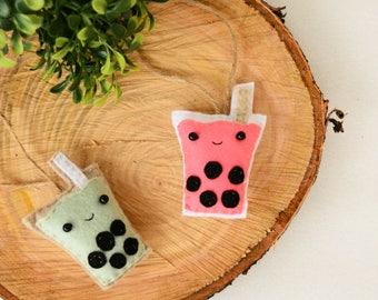 BBT LOVE - Keychain - Felt Plush Ornament - Gift for Him/Her, Birthday, Kid, Christmas Ornament Present - Cute, Funny, Punny, Soft Toy