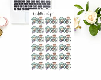 Planner Stickers, Kawaii Mermaid, Laundry Day, Chore Reminder