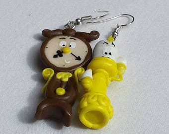 Big ben and light earrings and the beast, to order