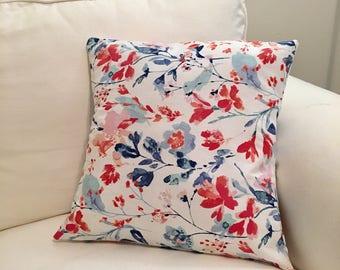 Lucky Leo Decor Floral 16x16 Pillow Sham