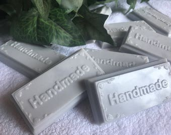 Handmade organic goats milk soap for men, Calvin Klein Eternity type, 3 oz