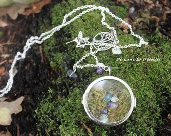 magical mineral box necklace