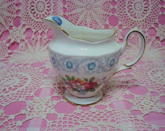 Lovely Vintage Royal Albert FRAGRANCE Large Milk Jug.