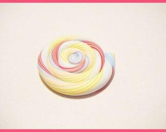 Kawaii sweet treats polymer fimo clay lollipop cabochon