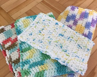 Square kitchen cloths bundle up and save !!! 5.00 each or 3 for 12.00