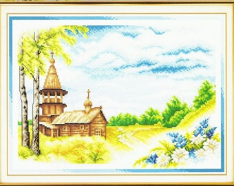 Counted Cross Stitch Kit Summer Day PS-0193