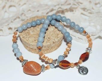 Pair of Yin Yang bracelets