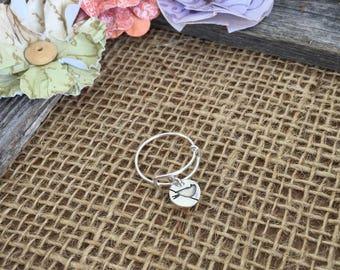 Little Bird Charm Ring