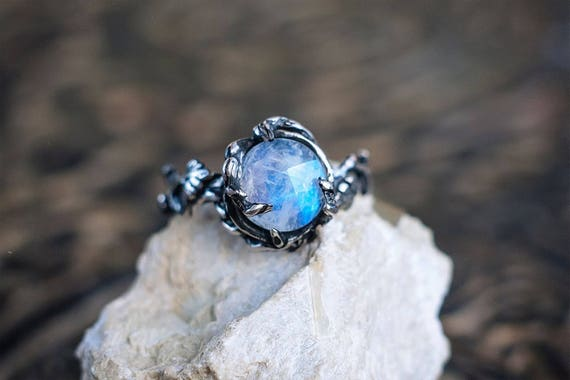like this item - Moonstone Wedding Rings