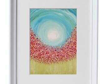 11x14 Spring Meadow - Art Print