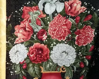 SALE! Flower Show - Panel - Blank Quilting by Gail Fraser - Vase