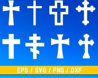 Cross svg file, Cross svg, Cross cut file, Cross cuttable file, Christian Cross svg, Christianity, Cross png, Cross vector