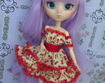 Dress Thyam cherry [Pullip = 27cm obitsu]