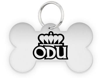 Old Dominion University ODU Dog Tags | Pet Tags | Cat Tags | Necklace | College Pet Tags