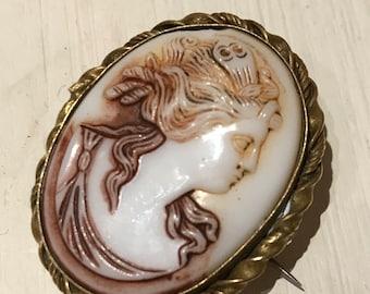 Antique cameo - vintage cameo - Italian cameo - Victorian cameo - antique jewellery - vintage jewellery - antique jewelry - vintage jewelry