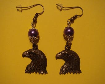 Dangling earrings, Golden Eagle