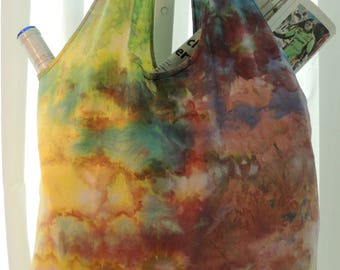 Ice Dyed Market Bag