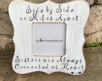 Sister Picture Frame Etsy