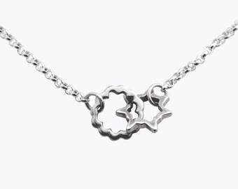 Bang Silver Necklace 01