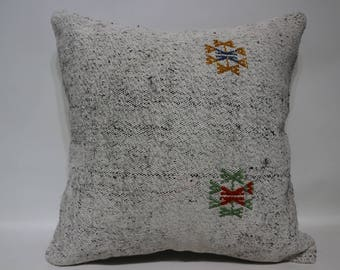 Bohemian Kilim Pillow Sofa Pillow Throw Pillow 20x20 Throw Pillow Home Ethnic Pillow Handwoven Kilim Pillow Large Kilim Pillow SP5050-2442