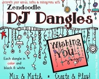 ZenDoodle Dangles Clip Art Download