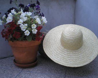 Straw hat-Portuguese traditional hat- Summer hat