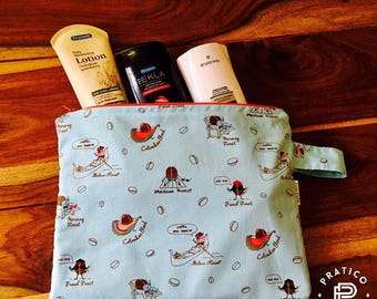 Ready / Wetbag / wetbag / pool / Beach / coffee /coffee/ diaper bag / pool bag / wetbag for kids stuff