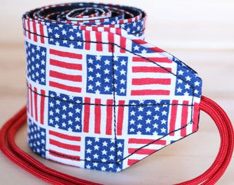 TraininGear Wrist Wraps US Flag Stars & Stripes Weightlifting Lifting Crossfit Training Gear