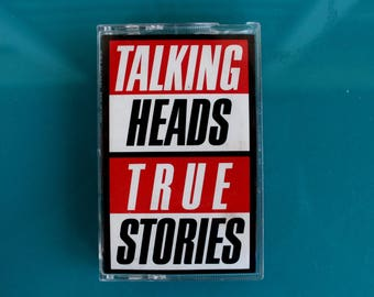 TALKING HEADS - True Stories - Cassette Tape 1986