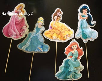 Disney Princesses stick character.