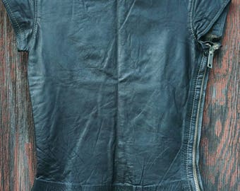 Womens XS Leather Top