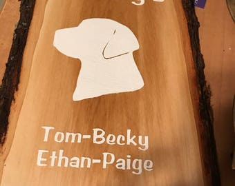 Personalized Wood Plaque