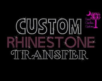 Custom Rhinestone Transfers-Captain