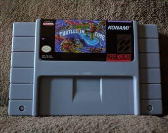 Ninja Turtles: Turtles In Time SNES Super Nintendo Repro - Free Shipping