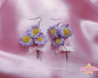 Little bouquet earrings