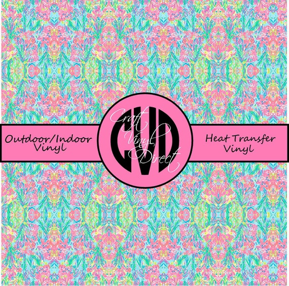Beautiful Patterned Vinyl // Patterned / Printed Vinyl // Outdoor and Heat Transfer Vinyl // Pattern 677